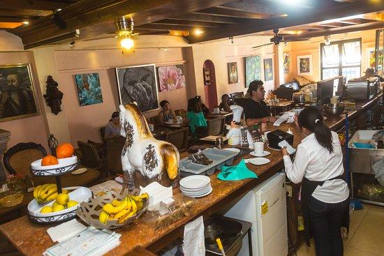 Cafe Monet: cocina