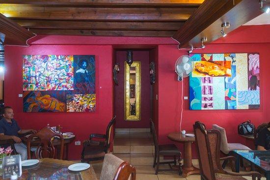 Cafe Monet: arte