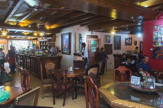 Cafe Monet: comedor