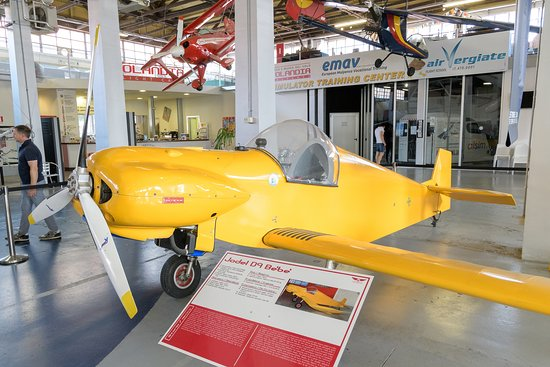 Volandia Parco e Museo del Volo Malpensa: Uno degli esemplari esposti.