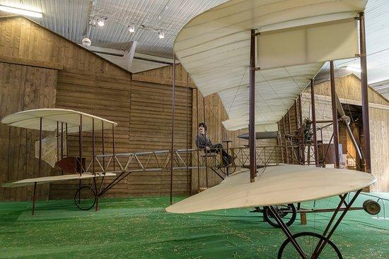 Volandia Parco e Museo del Volo Malpensa: Il primo aereo che ha volato a Malpensa.