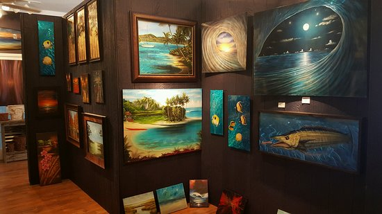 Salter Path, NC: A husband & wife team of artists with the most diverse art collection on the Crystal Coast