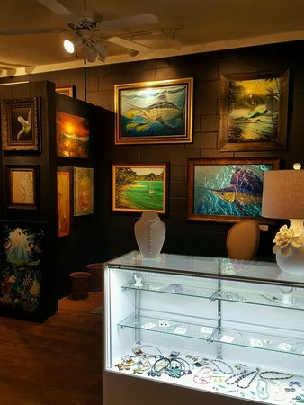 Salter Path, NC: Paintings, Metal Work, Pottery, Jewelry & More