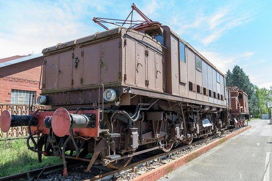 Volandia Parco e Museo del Volo Malpensa: Vecchia locomotiva.