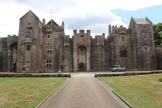 Frontage of Compton Castle