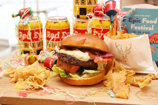 Neo Cafe & Eatery: 'Stag Do' burger for WOAP