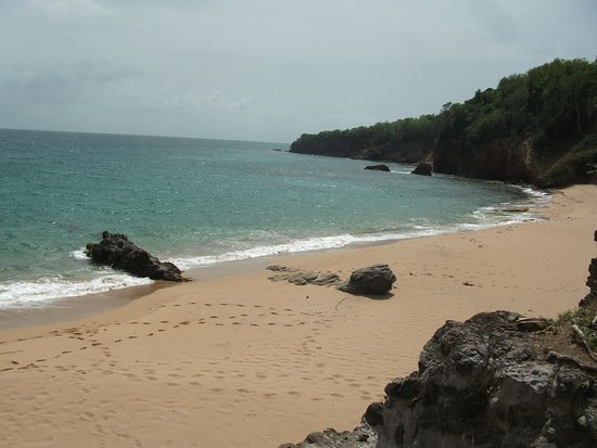 Deshaies, Guadeloupe: plage