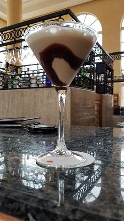 Yummy martinis in the beautiful martini bar