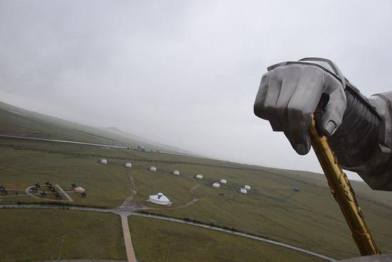 Genghis Khan Statue Complex: Zicht op de omgeving