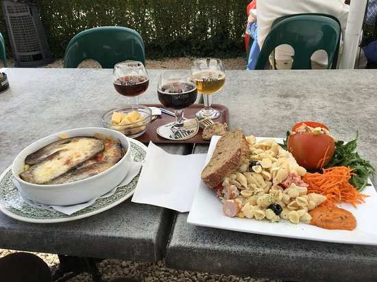 Aubel, Βέλγιο: Beer and lunch