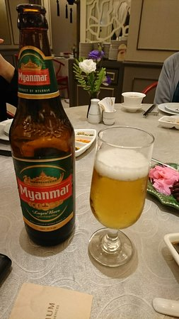 Tiger Hill Chinese Restaurant (Chatrium Hotel): ミャンマービール