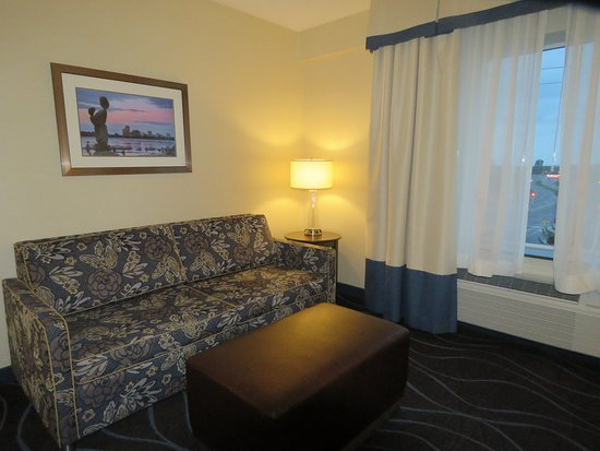 King With Sofa Bed Picture Of Hampton Inn By Hilton Ottawa Airport