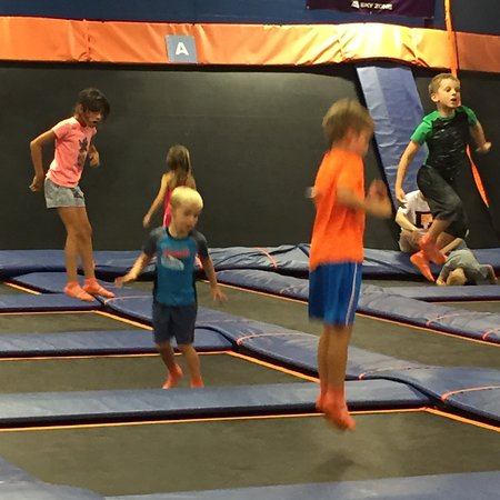 Canton, OH: Jumping fun