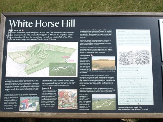 Uffington, UK: Here is the story