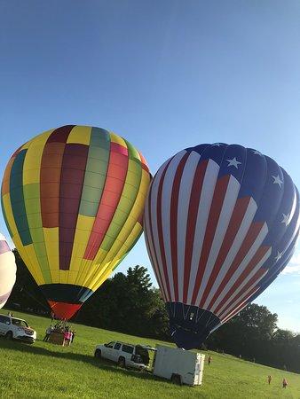America Hot Air Balloon