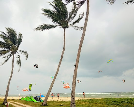 Ang Thong, Thái Lan: Kitespot at Ban Harn beach, on the east coast of Koh Samui