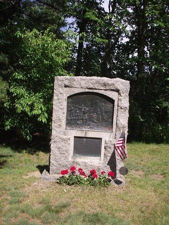 Storer Garrison State Historic Site: ME - WELLS - STORER GARRISON SHS - COMMEMORATIVE MONUMENT