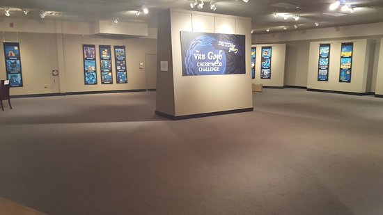 The National Quilt Museum: The Van Gogh Collection Room