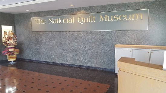 The National Quilt Museum Sign