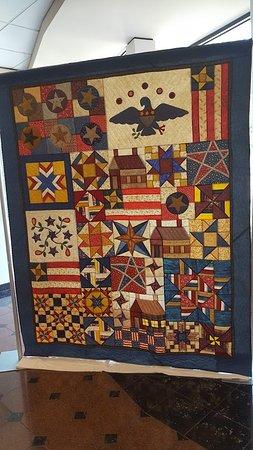 The National Quilt Museum: Patriotic Quilt