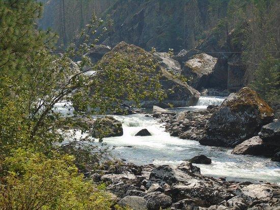 Kooskia, Айдахо: Selway Falls