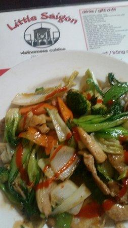 Little Saigon: Pho Ap Chao dish #26 (missing beef)