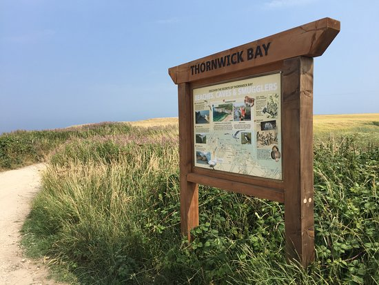 Flamborough, UK: Thornwick Bay