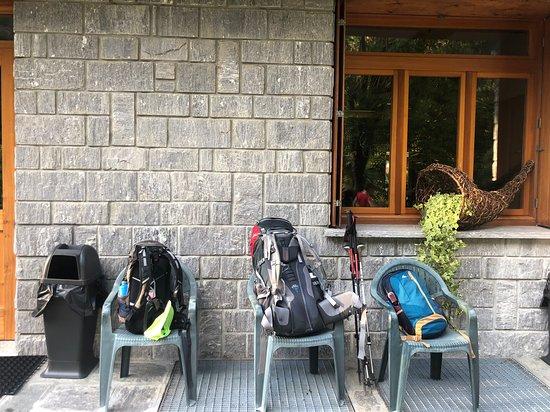 Province of Verbano-Cusio-Ossola, Italy: Zaini alla partenza