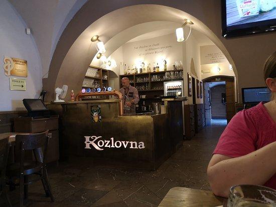 Velke Popovice, República Tcheca: Die Brauereigaststätte