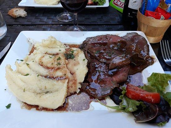 Lantosque, Francja: plat du jour ce 15 aout 2018