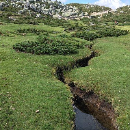 Photos du paysage du plateau de Coscione
