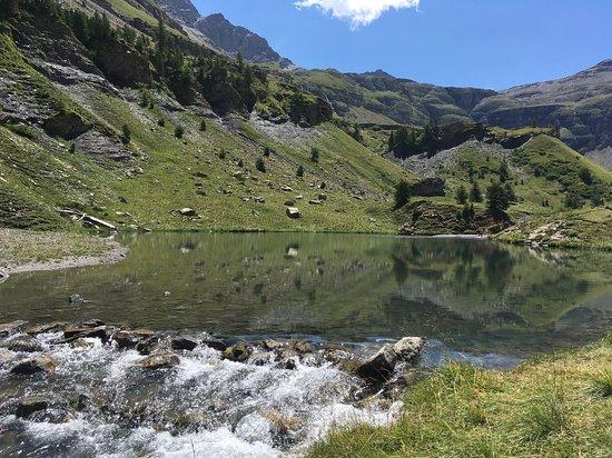 Freissinieres, Francja: Alt.1990m Parc des Ecrins - Lac Fangeas (2h de marche)