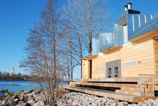 Public sauna of Lonna