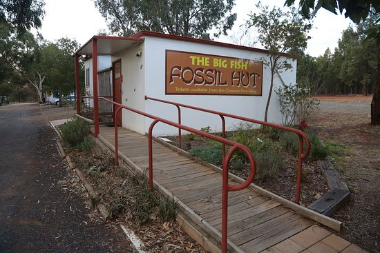 The Big Fish Fossil Hut