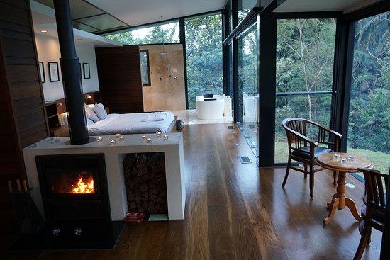 Upper Crystal Creek, Australia: Mountain Lodge Interior