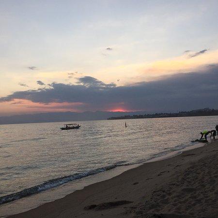 Relaxing Night at Lake Kivu
