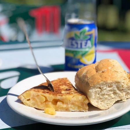 Soy fan del chiringuito, de Olgui y de su tortilla de patata