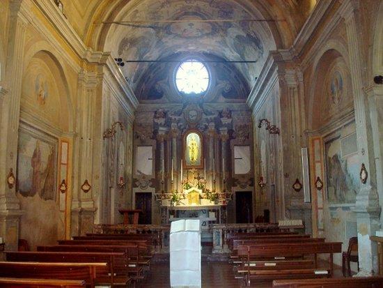 Castel San Giovanni, Italie : Vista dell'interno