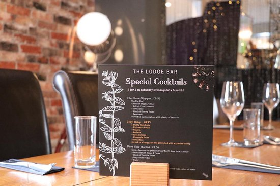 The Lodge Bar & Dining at Littleover Lodge : Summer Special Cocktails