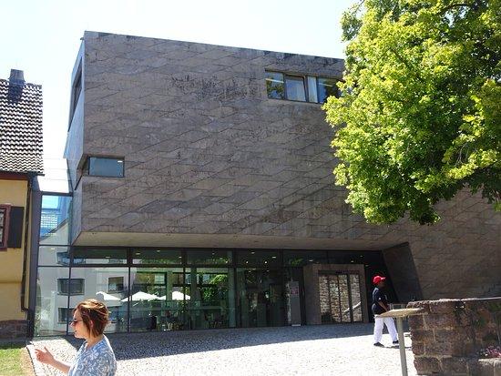 Bachhaus: De moderne ontvangstruimte, deel van het Bachmuseum
