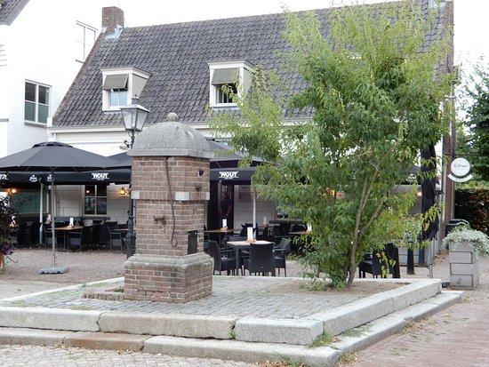 Moergestel, Nederland: Terras