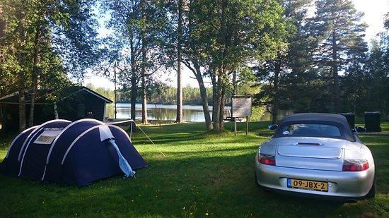 Vansbro, Sweden: Staying at Glatjärn badplats