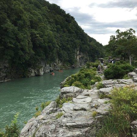 Nagatoro-machi, Japan: Iwadatami rocks