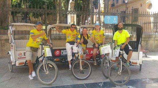 FahrradTaxi Málaga