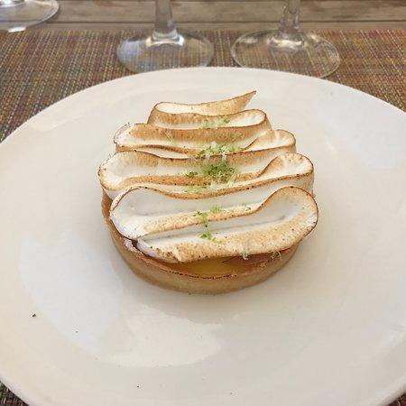 La Napoule, ฝรั่งเศส: Tarte au citron meringué