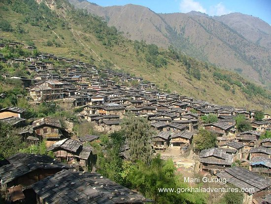 it is one of nice village and located north east of gorkha  near Mt. Manaslu (8163m)