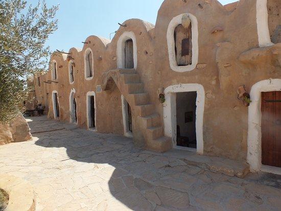 Ksar Hadada, Tunisia: partie rénovée