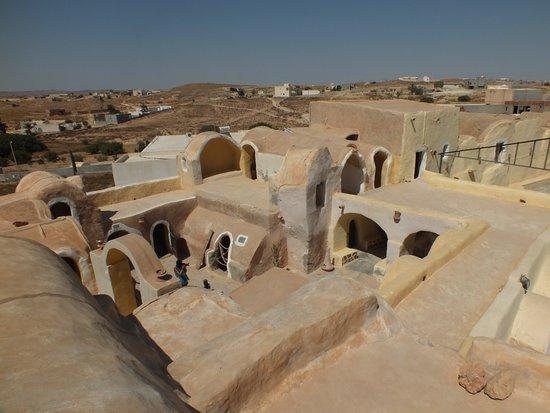 Ksar Hadada, Tunisia: vue de haut