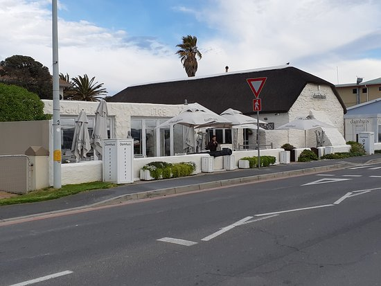 The restaurant on Beach Road, Melkbosstrand