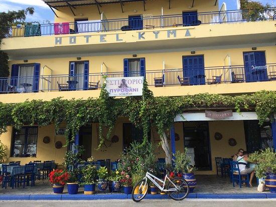 Platanidia, Греция: Front Ansicht